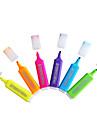специальный цвет флуоресцентный маркер для 6 цвет метки обучения (6шт)