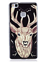 For Huawei P9 Lite P8 Lite Glow in the Dark IMD Pattern Case Back Cover Case Animal Soft TPU for Huawei P9 Lite Huawei P8 Lite