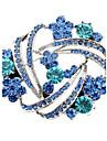 Femme Broche Cristal bijoux de fantaisie Imitation Diamant Bijoux Pour Mariage Soiree Quotidien Decontracte