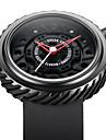 Hombre Reloj Deportivo Reloj Militar Reloj de Moda Reloj de Pulsera Reloj creativo unico Cuarzo Cuarzo Japones Resistente al Agua Silicona
