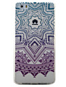 For Huawei Y5II Y6II Case Cover Purple Campanula Pattern Painted TPU Material Phone Case for Y625 Y635 5X P9 P8 Lite