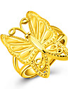 Ring Band Rings Gold 18K gold Animal Shape Butterfly Golden Jewelry For Party Anniversary Birthday Daily Casual 1pc