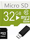 32GB  Micro SD TF Card  with SD SDHC Adapter and Multi-function OTG USB Card Reader