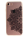 Para iPhone X iPhone 8 iPhone 7 iPhone 6 Case Tampa IMD Capa Traseira Capinha Flor Macia PUT para Apple iPhone X iPhone 8 Plus iPhone 8