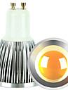 5W GU10 Точечное LED освещение 1 COB 600 lm Тёплый белый / Холодный белый Регулируемая AC 220-240 / AC 110-130 V 2 шт.