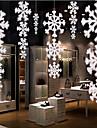 decorations de Noel 1pcs de haute qualite en trois dimensions chaine de flocons de neige d\'avion