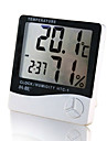 1PC Thermometer Household Indoor Baby Room High Precision Electronic Temperature And Humidity Meter Child Alarm Clock