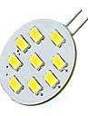 2W G4 Двухштырьковые LED лампы T 9 SMD 5730 180 lm Тёплый белый / Холодный белый DC 12 V 1 шт.