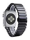 Bague de montre pour Apple Watch 38mm Bague de papillon 42mm Bracelet de remplacement en ceramique
