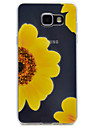 For Samsung Galaxy A510 A310 Sunflower Pattern TPU High Purity Translucent Soft Phone Case