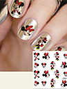 1 Nail Sticker Art Autocollants de transfert de l\'eau Maquillage cosmetique Nail Art Design