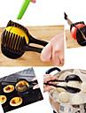 ручной лимон лук помидор фрукты ломтерезки инструмент еды клипсы кухонный измельчитель резак
