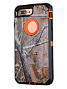 For iPhone 7 plus 7 Case Forest Camouflage Three in One PC with Silicone Shockproof Case For iPhone 6s Plus 6s 6 SE 5s 5 5c 4s 4