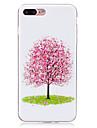 Pour Phosphorescent / IMD Coque Coque Arriere Coque Fleur Flexible TPU pour AppleiPhone 7 Plus / iPhone 7 / iPhone 6s Plus/6 Plus /