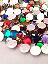 5000PCS Mixs Color Flatback Resin Gems 3mm Handmade DIY Craft Material/Clothing Accessories