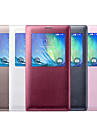 View Window Solid Color Full Body Case for Samsung Galaxy A3 (Assorted Color)