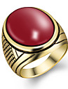 Ring / Resin Alloy Fashion Black Red Green Blue Jewelry Party Daily Casual Sports 1pc
