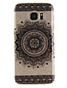 For Samsung Galaxy S7 S7edge S3 Case Cover Mandala Flowers Pattern IMD Process Painted TPU Material Phone Case