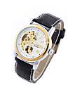 Men\'s Women\'s Unisex Sport Watch Dress Watch Fashion Watch Mechanical Watch Calendar Large Dial Automatic self-winding Genuine Leather