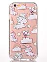 Pour Motif Coque Coque Arriere Coque Dessin Anime Dur Polycarbonate pour Apple iPhone 7 Plus iPhone 7 iPhone 6s Plus/6 Plus iPhone 6s/6