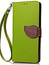 Para Carteira Porta-Cartao Capinha Corpo Inteiro Capinha Cor Unica Rigida Couro PU para HuaweiHuawei Y600 Huawei Y6/Honor 4A Huawei Y336