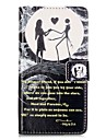 For HUAWEI P9 P8 Lite 5X 5C Y5II Y6II Case Cover Moon Couple Pattern Painting Card Stent PU Leather Phone Case