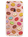 Pour Motif Coque Coque Arriere Coque Fruit Flexible PUT pour Apple iPhone 7 Plus iPhone 7 iPhone 6s Plus/6 Plus iPhone 6s/6 iPhone SE/5s/5