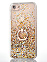 For Apple iPhone 7 7Plus 6S 6Plus Case Cover Diamond Diamond TPU Soft Side Ring Stent Quicksand Flash Powder