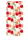 For Apple iPhone 7 7Plus 6S 6Plus Case Cover Cherry Pattern HD TPU Phone Shell Material Phone Case