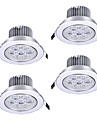 Z®ZDM 7PCS 7W 750-850LM High power Dimmable LED Panel Lights Warm White Cool White Natural White AC110AC220VAC12V