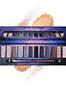 1Pcs  12 Color Nude Pro Eye Shadow Palette Perfect Golden Sleek Smoky Eyeshadow Shimmer Matte Naked Palette Makeup Set