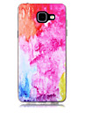For Samsung Galaxy A3(2017) A5(2017) Case Cover Transparent Pattern Back Cover Color Gradient Soft TPU A7(2017) A7(2016) A5(2016) A3(2016)
