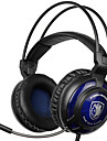 SADES SA-805 3.5mm Gaming Headsets with Microphone Noise Cancellation Music Headphone Black-blue for PS4 Laptop PC Mobile Phones