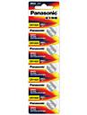 panasonic CR1620 Muenze Knopfzellenbatterie 3 V 5 Pack