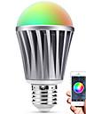 Smart LED лампа Е27 Bluetooth 4.0 RGBW светостойкость вода / затемняемый / времени / приложение дистанционного управления / спальным