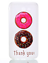 For Samsung Galaxy J7(2017) J3(2017) TPU Material Two-Color Donuts Pattern Luminous Phone Case J5 Prime J710 J510 J310 J3 J120 G530 G360