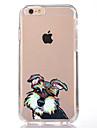용 투명 패턴 케이스 뒷면 커버 케이스 개 소프트 TPU 용 Apple아이폰 7 플러스 아이폰 (7) iPhone 6s Plus iPhone 6 Plus iPhone 6s 아이폰 6 iPhone SE/5s iPhone 5 iPhone 5c