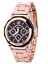 Модные часы Наручные часы Кварцевый сплав Группа С подвесками Cool Повседневная Креатив Серебристый металл Розовое золотоБелый Черный