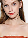Women\'s Choker Necklaces Jewelry Single Strand Alloy Basic Euramerican Fashion Personalized Simple Style Jewelry ForBusiness Daily Casual