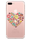 For Apple iPhone 7 7 Plus 6S 6 Plus Case Cover Food Pattern Painted High Penetration TPU Material Soft Case Phone Case