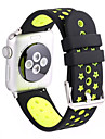 Sport Band For Apple Watch Series 1 2 38mm 42mm Silicone Replacent Watch Band