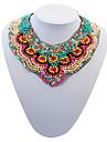 Femme Colliers Declaration Bijoux Bijoux Resine Alliage Mode Personnalise euroamericains Bijoux Pour Soiree Occasion speciale