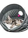 Кошка Кровати Животные Корзины Твердый Дышащий Складной Серый