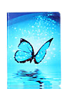 For Samsung Galaxy Tab A 9.7 A 7.0 E 9.6 Case Cover Butterfly Pattern Card Stent PU Material Flat Protection Shell