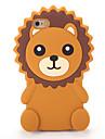 Для Чехлы панели С узором Задняя крышка Кейс для 3D в мультяшном стиле Мягкий Силикон для AppleiPhone 7 Plus iPhone 7 iPhone 6s Plus