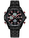 NAVIFORCE Men\'s Sport Watch Fashion Watch Wrist watch Casual Watch Quartz Calendar Stainless Steel Band Luxury Cool Unique Watches