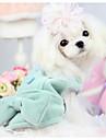 Собаки Свитера Одежда для собак Зима Мультфильмы Мода На каждый день Зеленый Розовый