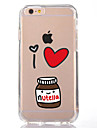 Pour iPhone X iPhone 8 Etuis coque Transparente Motif Coque Arriere Coque Bande dessinee Flexible PUT pour Apple iPhone X iPhone 8 Plus