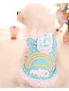 개 드레스 강아지 의류 귀여운 패션 프린세스 레드 블루