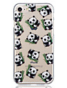 for Apple iPhone 7 Plus 7 Panda Pattern Case Back Cover Case Soft TPU for iPhone 6s Plus  6 Plus 6s  6 5 5S SE
